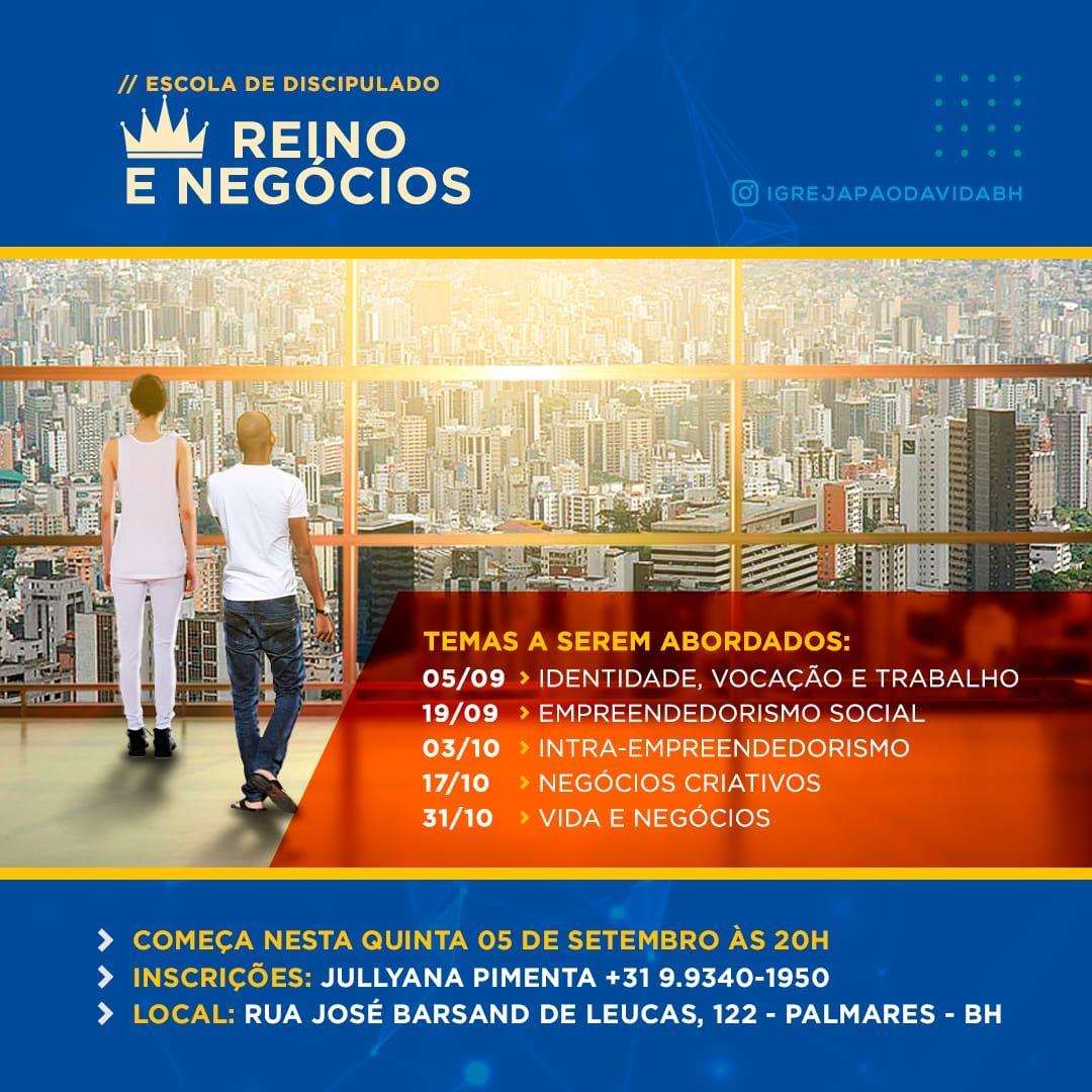 ESCOLA REINO E NEGÓCIOS - BH